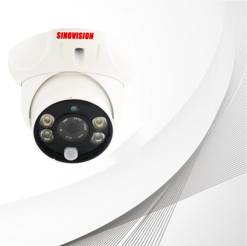 Sinovision IP PIR Alarm Dome  Camera