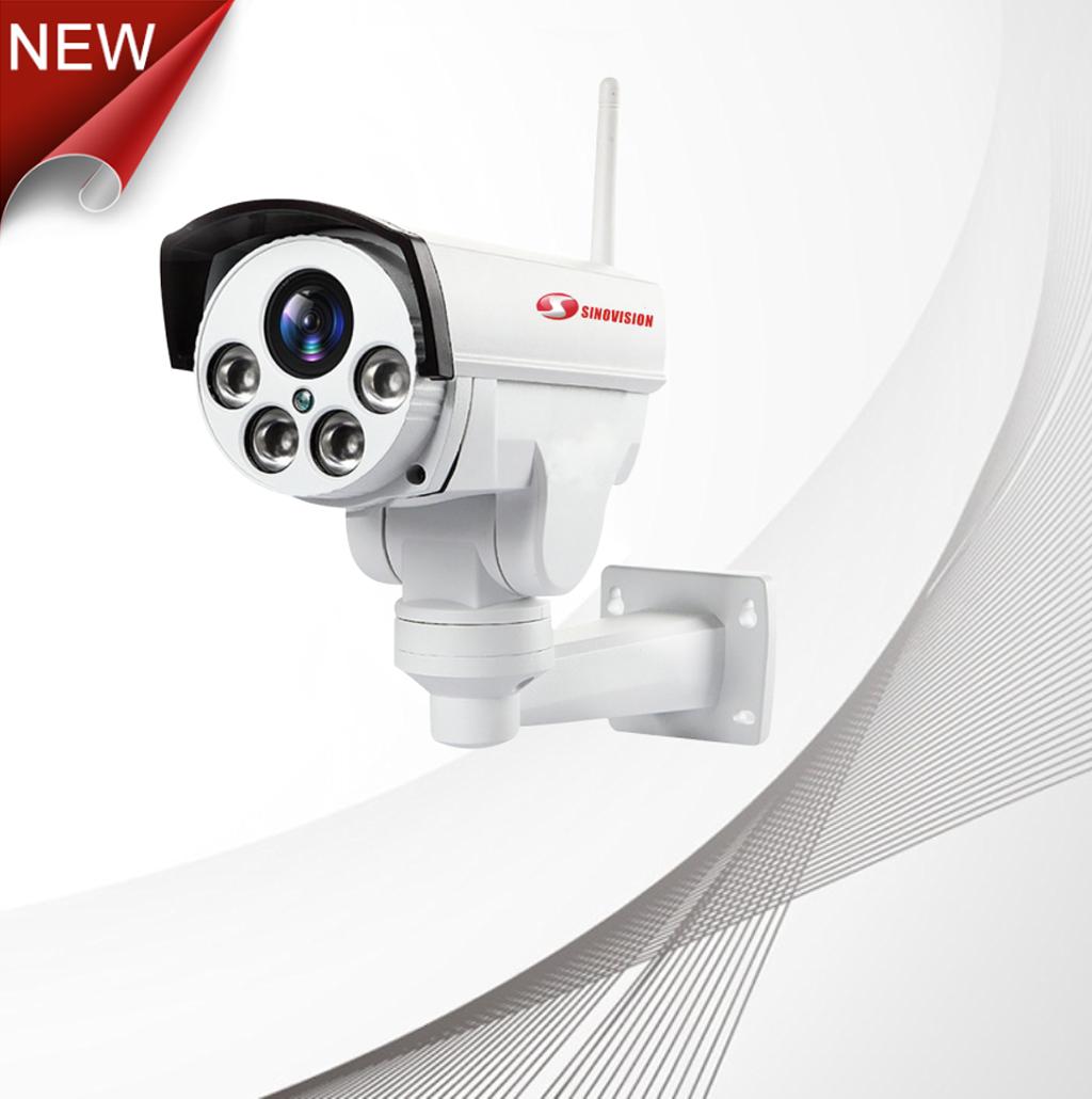 Sinovision 4G SIM Card Wifi Outdoor Wireless IP Camera CCTV