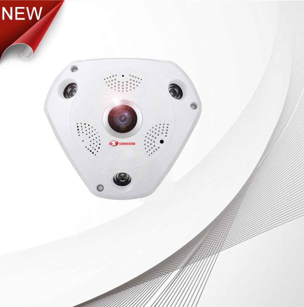 Sinovision Panoramic Wifi 4G 1.3MP Mini Camera 360VR