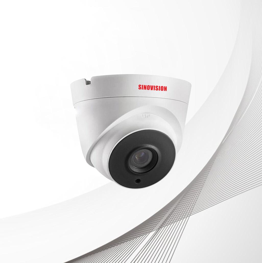 Sinovision HD 5.0MP Fixed Lens Metal Dome Camera