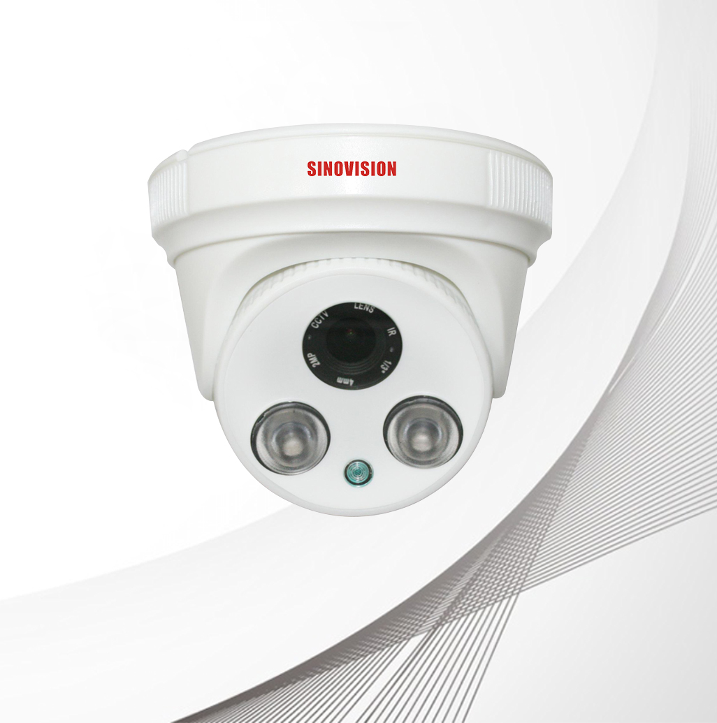 Sinovision HD 5.0MP Fixed Lens Plastic Dome Camera