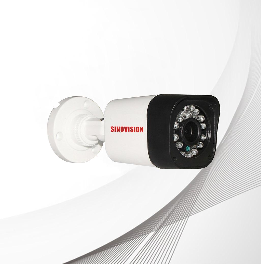 Sinovision HD 5.0MP Fixed Lens Plastic Bullet Camera