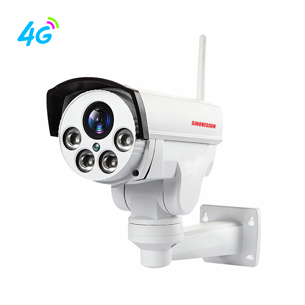 Sinovision 1080P 5x Optical Zoom 4G Mini PTZ Camera