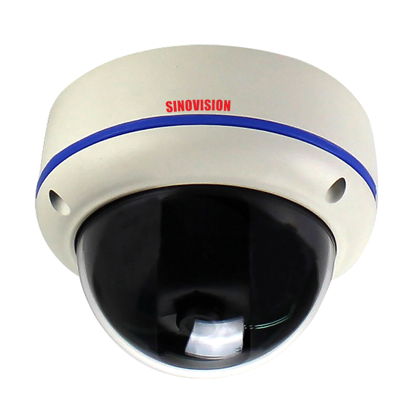 Sinovision Varifocal Lens Outdoor Dome Starlight IP Cam