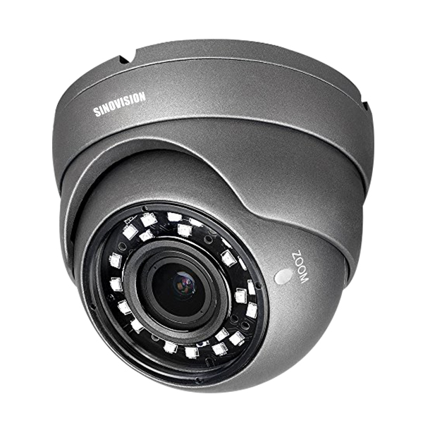 Sinovision HD 5.0MP Varifocal Lens Metal Dome Camera