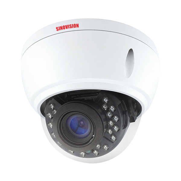 Sinovision HD 4.0MP Varifocal Lens Metal Dome Camera