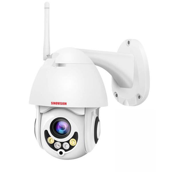 Sinovision WIFI IP Mini PTZ Speed Dome Plastic Camera
