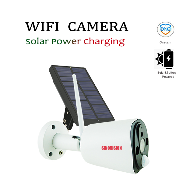 Sinovision FHD 1080P Wifi Camera with Solar & Battery Power