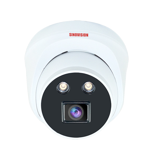 Sinovision HD 1080P Dome Camera with Warm Lights