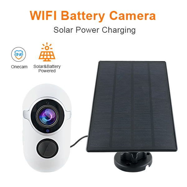 Sinovision Solar Power Low Consumption Battery Camera